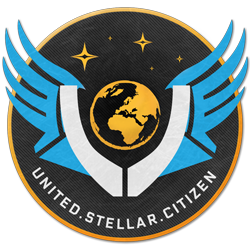 Logo United Stellar Citizen Communauté Starcitizen